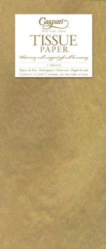 Entertaining with Caspari Tissue Paper, Metallic Gold, 4-Sheets