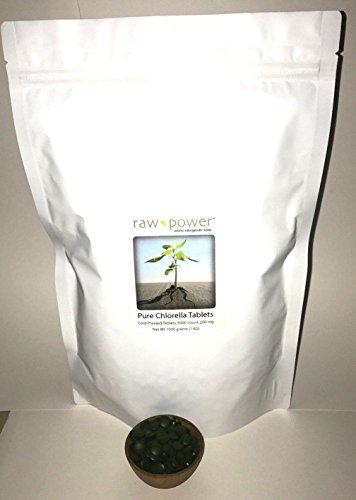 Chlorella Tablets Raw Power Organics