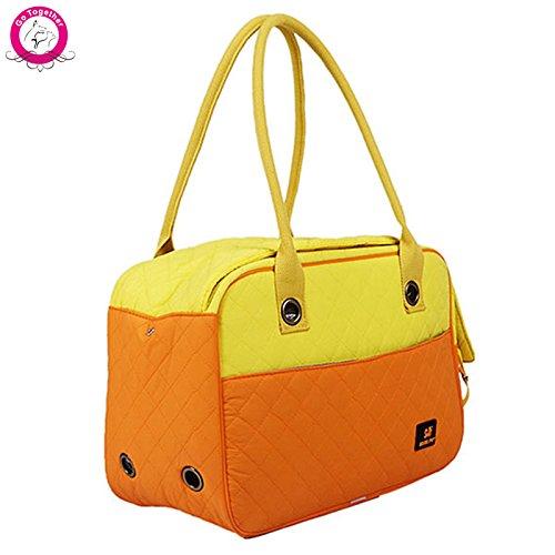 Black S black S WeMore(TM) Outdoor Portable Pet Dog Travel Tote Bag Luxury Small Dog Cat Carriers Handbag 3 colors