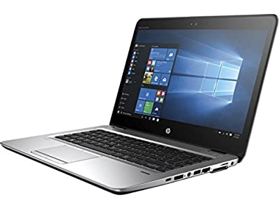 "HP EliteBook 745-G3 14"" Notebook, Full-HD Display, AMD A8-8600B Quad-Core, 128GB Solid State Drive, 8GB DDR3, Backlit Keyboard, Bluetooth, 802.11n, Win10Pro (Certified Refurbished)"