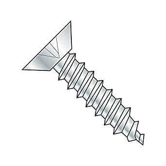 Pack of 100 Phillips Drive 3//8 Length Steel Sheet Metal Screw Type AB Black Zinc Plated Finish Pan Head #6-20 Thread Size