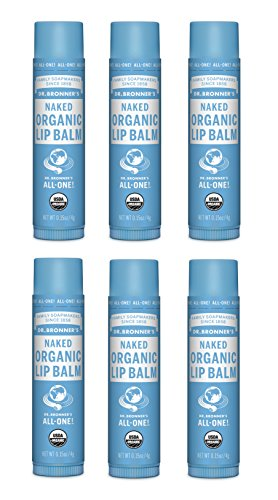 Dr. Bronner's Baby Unscented Magic Balm. 2 oz. Organic Massaging Balm for Chapped and Chaffed Skin (6 Pack)