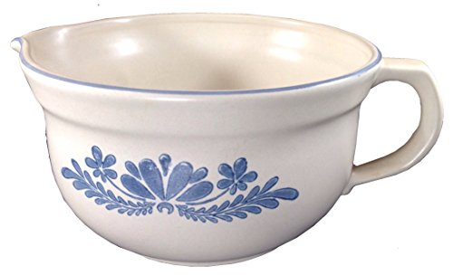 Pfaltzgraff Yorktowne Pattern Large Handled Batter Bowl - Handled Batter Bowl