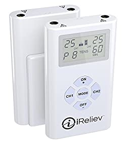 iReliev Tens Unit and 8 Electrodes Pain Relief