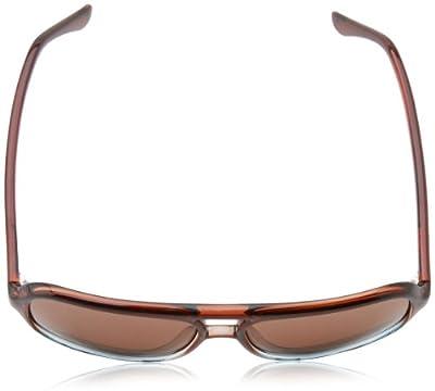 Calvin Klein Men's CWR645S Aviator Sunglasses,Brown & Blue,16 mm