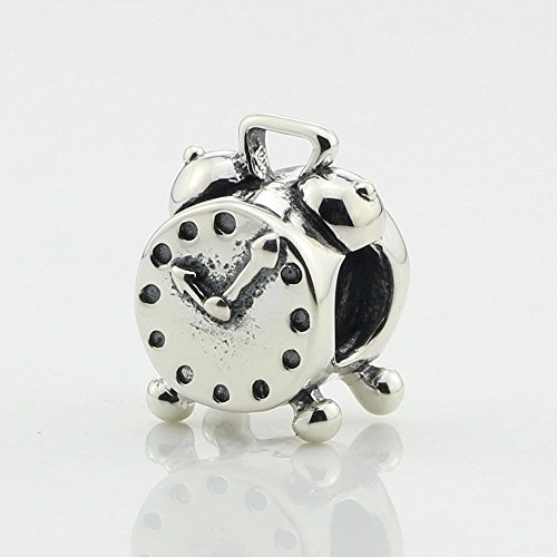 Pandora ALE S925 Charm ALARM CLOCK Charm 790449 supply:hotbeadhotcharm Ale Clock
