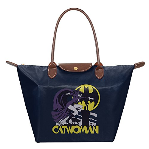 Catwoman Rooftop Batman Comics Women Fashion Waterproof Tote - Poison Ivy Messenger Bag