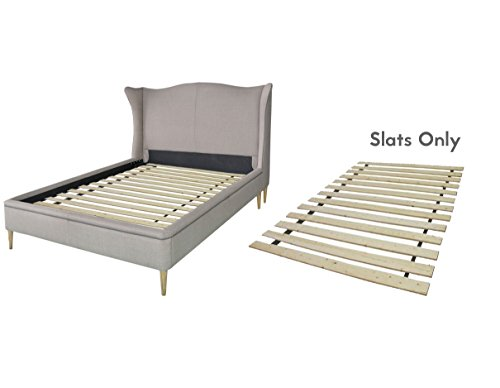 Continental Mattress Heavy Duty Wooden Bed Slats/Bunkie Board Frame, California King