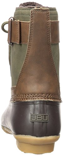 Jbu By Jambu Womens Quebec Weather Ready Rain Boot Army Green / Brown