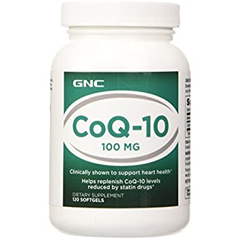 GNC Preventive Nutrition Coq-10 100mg 120 Capsules Q10