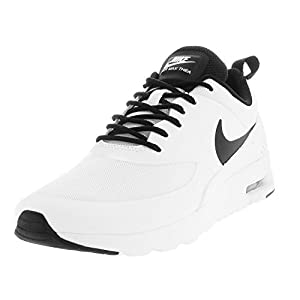 Nike Womens Air Max Thea White/Black/White Running Shoe 6 Women US