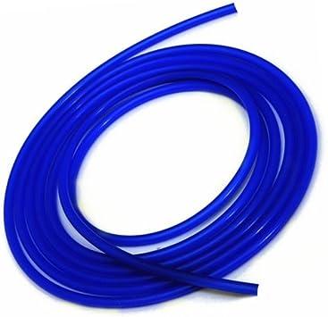 1//4 6MM Hiwowsport 10 Length High Temperature Silicone Vacuum Tubing Hose Blue Color