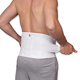 Core #6062 Dual Pull Criss Cross Elastic Lumbosacral Back Support Size Large