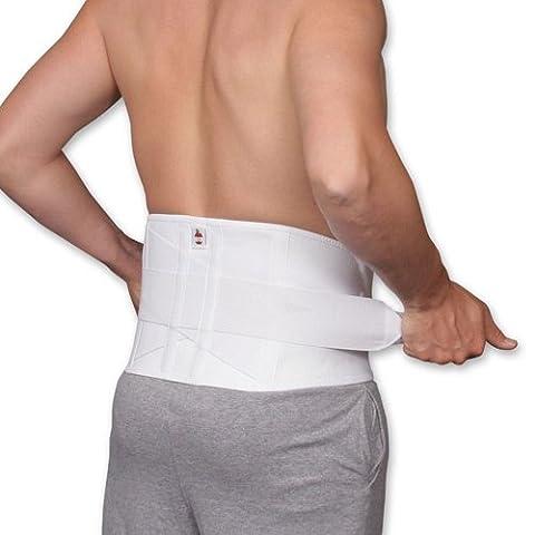 Core #6062 Dual Pull Criss Cross Elastic Lumbosacral Back Support Size Large - Sacral Belt