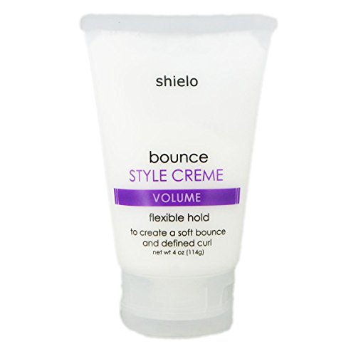 Hair Volume + Bounce Styling Cream 4 oz. Controls frizz and sets a - Bounce A Bigger