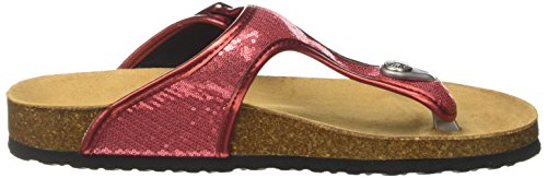 Mujer Rojo Mules Sequins Oban Pepe salsa Jeans IAUHH