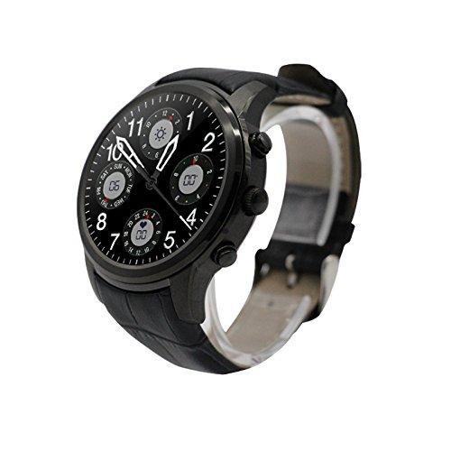 2017 nueva llegada 3 G Sim reloj inteligente teléfono 450 mAh larga espera reloj de pulsera Bluetooth Sycn teléfono inteligente SmartWatch deporte podómetro ...