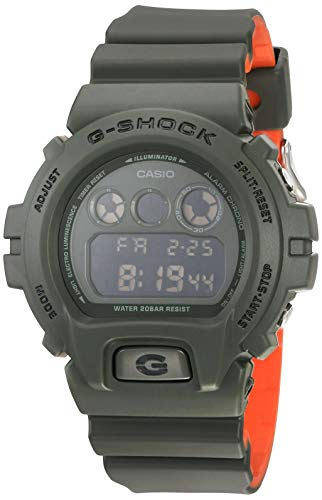 Casio G-Shock Unisex DW6900LU-3 Green/Orange One Size for sale  Delivered anywhere in USA