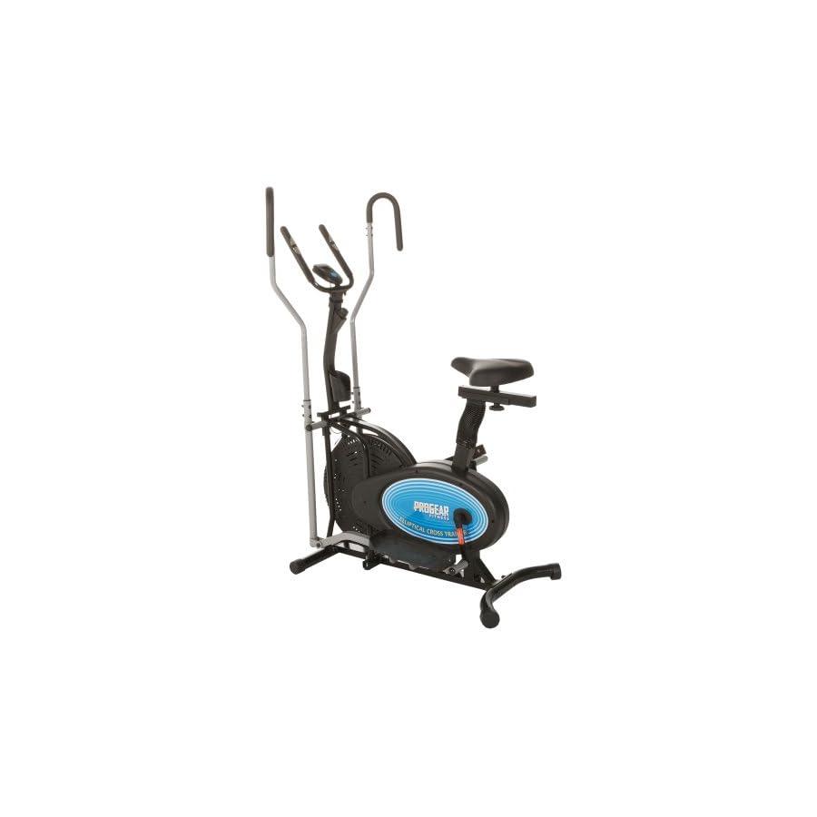 ProGear 400LS 2 Dual Trainer Elliptical & Exercise Bike with Pulse Sensor