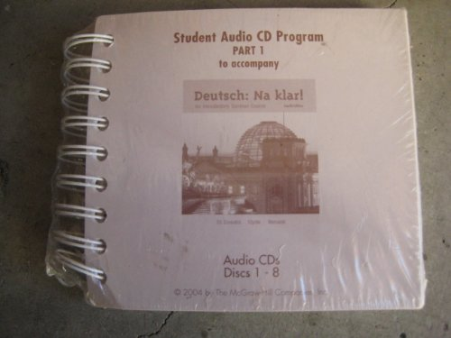 Student Audio CD Program Part 1 to accompany Deutsch: Na klar! An Introductory German Course (Pt. 1) (German Edition)