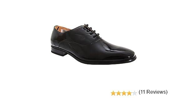Goor - Zapatos de Charol Piel con Cordones Modelo Oxford para Hombre/Caballero - Traje/Fiesta/Boda