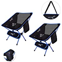 NiceC Ultralight Portable Folding Camping Backpacking...