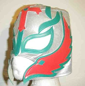 ASHLEYS Rey Mysterio plata máscara