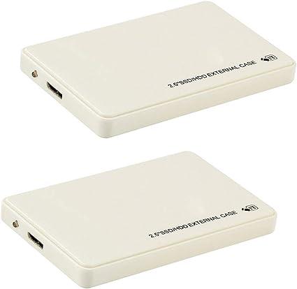 KESOTO 1TB 外付けハードドライブ 2個 2.5インチ USB3.0 HDD MacBook Xbox 360用 スリム