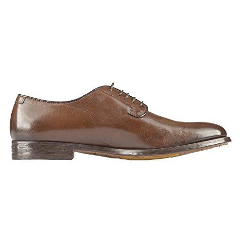Pago De Salida Con Paypal Cuánto Cuesta DOUCAL'S Scarpa Stringata - Uomo Pelle - Marrone- MOD 51116 Flat T. Moro R4GHkrww55