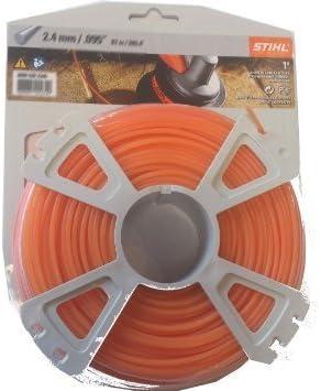 Stihl Premium Round Trimmer Line 095 2 4mm Amazon Sg Lawn Garden
