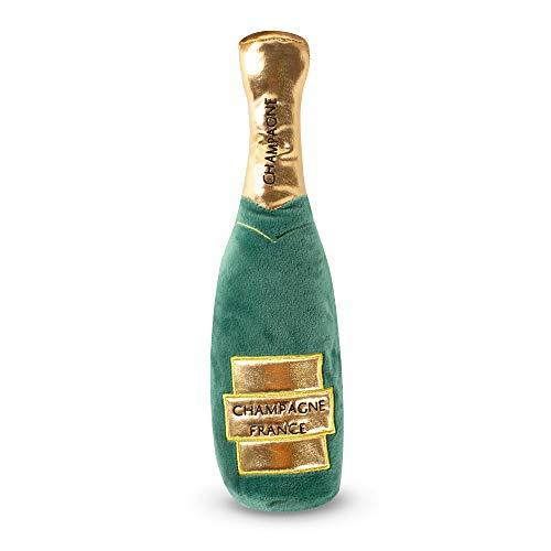 Fringe Studio Champagne Bottle Plush Pet Toy (289307) (Champagne Toy)