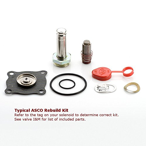 ASCO 322472 Solenoid Rebuild Kit by Asco