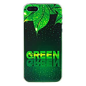 MOFY-Palabra verde asunto repujado de 5/5s iphone