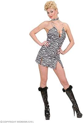 WIDMANN Sexy vestido de cebra Disfraz| talla M: Amazon.es ...