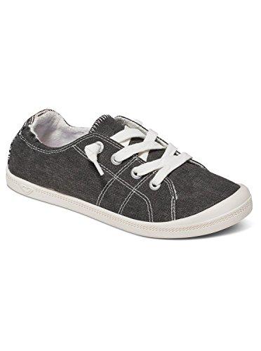 Roxy Women's Rory Shoe Fashion Sneaker, Black, 8 M US