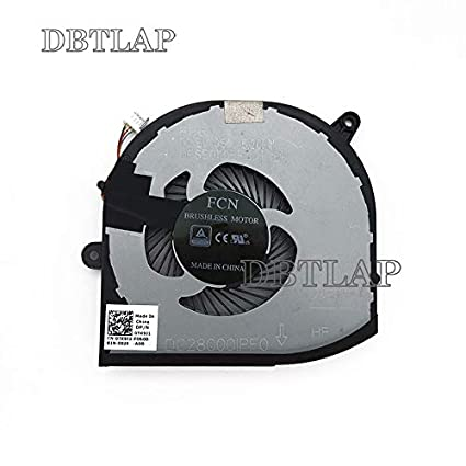 DBTLAP Laptop Cooling Fan for DELL XPS 15 9560: Amazon in: Electronics