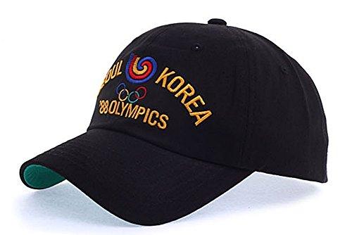 (myglory77mall Baseball Trucker Golf Sports Adjustable Hats goodboy BALL CAPs Yellow Olympic)