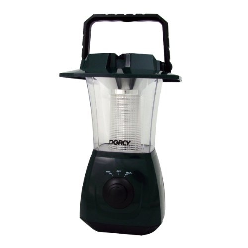 (Dorcy Rechargeable USB Dynamo Camping Lantern with Hand Crank and USB Cord, Green (41-4268))