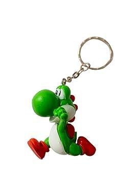 Desconocido Super Mario Bros Llavero Figura 3D Yoshi - 5,5 ...