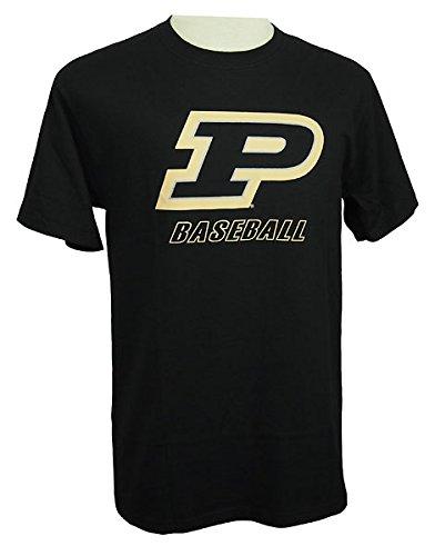 buy online 9d589 6d288 Amazon.com : Purdue Boilermakers Motion P Baseball T-Shirt ...