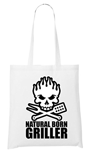 Natural Born Griller Bag White Certified Freak
