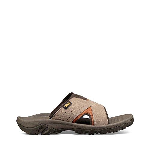 Teva Mens Men's M Katavi 2 Slide Sport Sandal, Walnut, 9 M US (Teva Mesh Sandals)