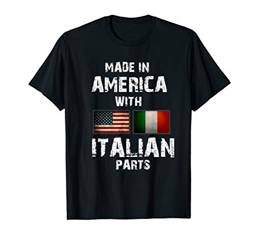 Made in America with Italian Parts Funny ()