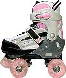 SFR Typhoon Adjustable Roller Skates - Pink