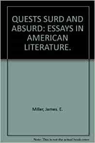 absurd literature Hey does anyone know what the term absurd hero means ive tried searching  but havent really got a clear idea of it this is for any essay on.