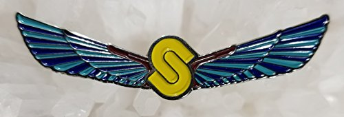 (Sts 9 Sound Tribe Sector 9 String Cheese Incident Yellow Wings Glow Enamel Hat Pin Festival Pin Grateful Dead Pin Dab Pin)
