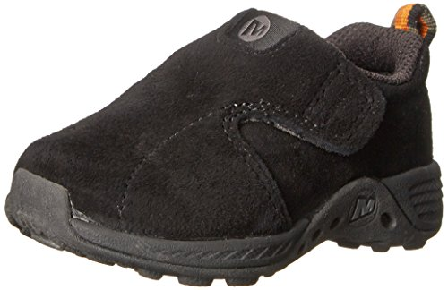 Merrell Jungle Moc Sport A/C Sneaker (Toddler),Black,10 M US (Sport Moc Shoes)