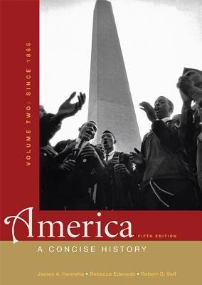 Download America Volume 2( Since 1865( A Concise History)[AMER V02 5/E][Paperback] pdf