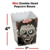 Mini Zombie Head Popcorn Buckets BULK