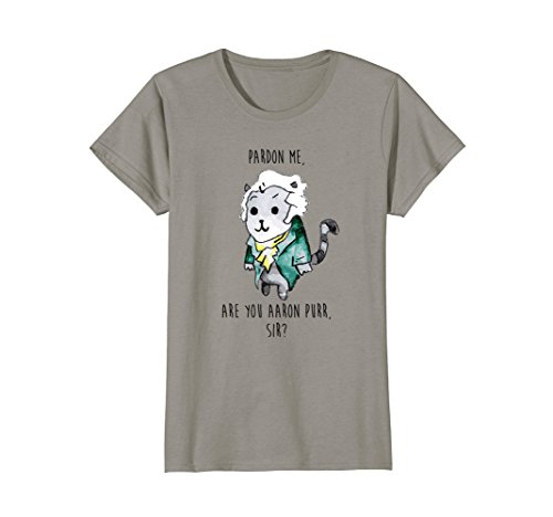 8cc7f4347 Womens The Hamilton Cat T-Shirt Hamilton T Shirt Men Small Slate